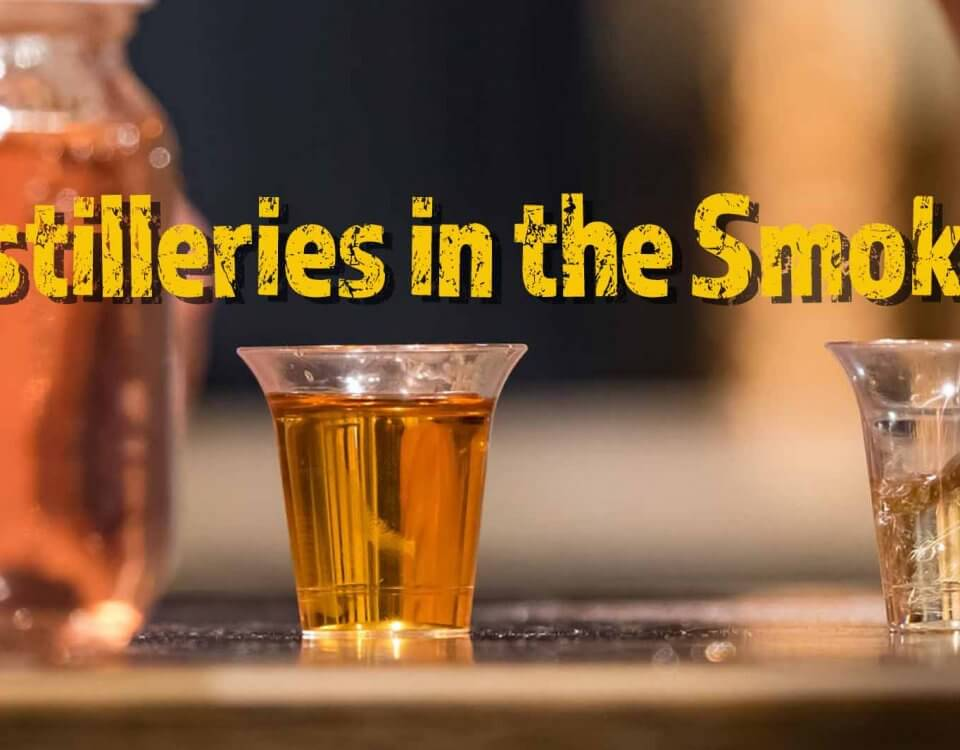 Moonshine locations in the smokies